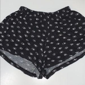 Brandy Melville Eye Shorts